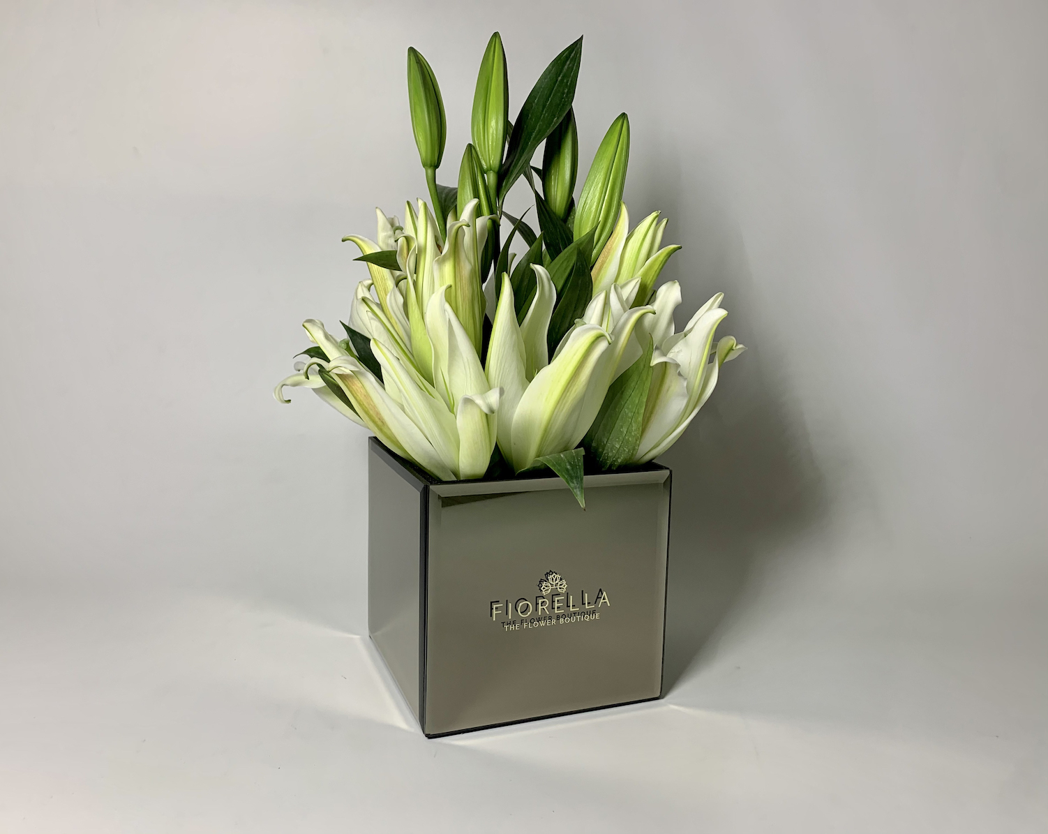 Mirror Cube – Lilies Rs 3300
