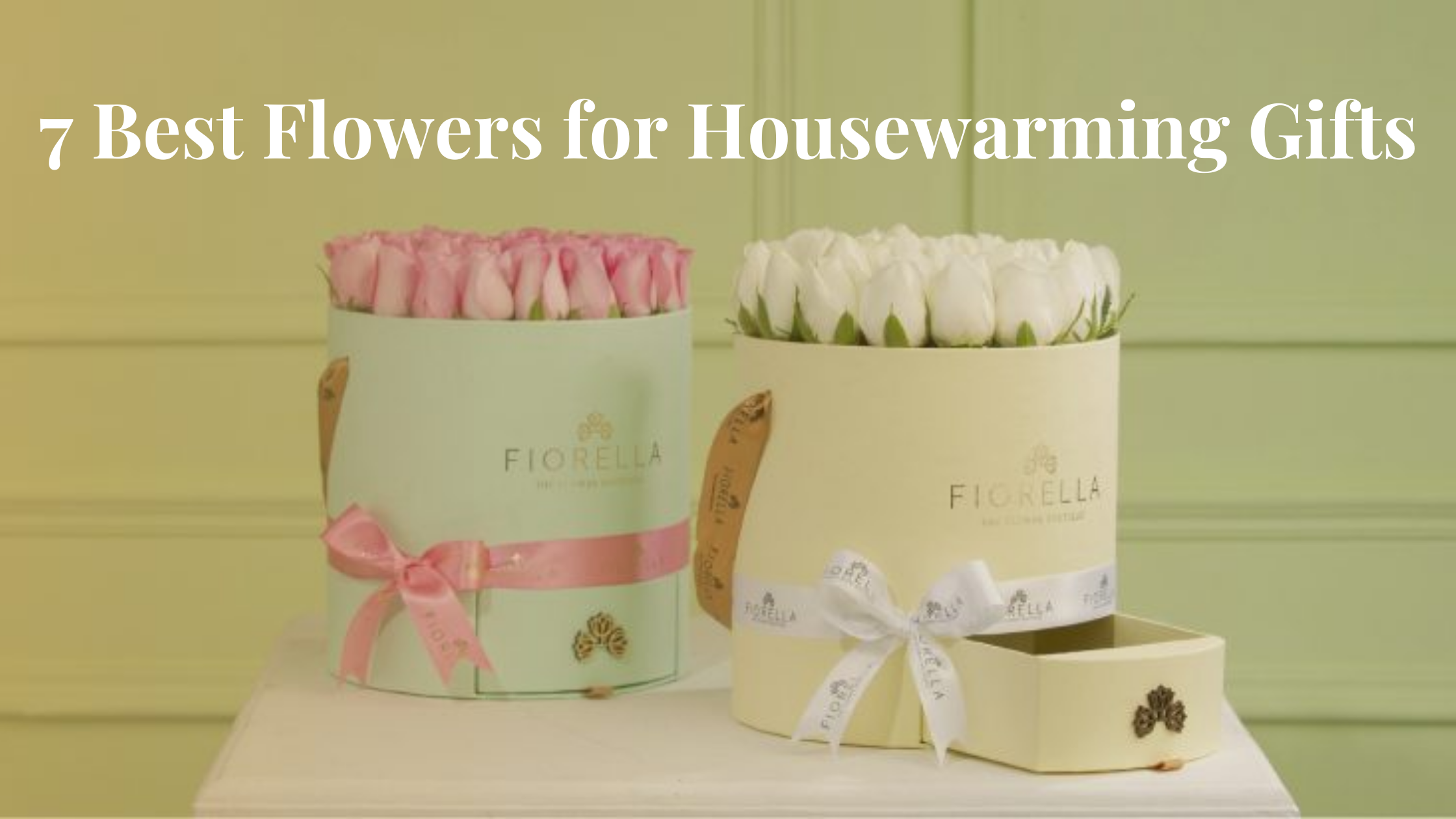 7 Best Flowers for Housewarming Gifts